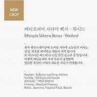 에티오피아시다마 벤사 - 워시드